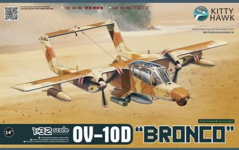 Kitty Hawk 1/32 Scale OV-10D Bronco aircraft kit - 32003