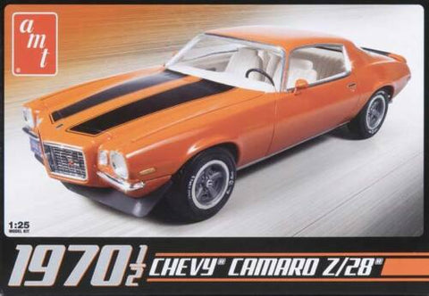 AMT 1/25 scale #635L/12 1970 1/2 Chevy Camero Z28 Model Kit