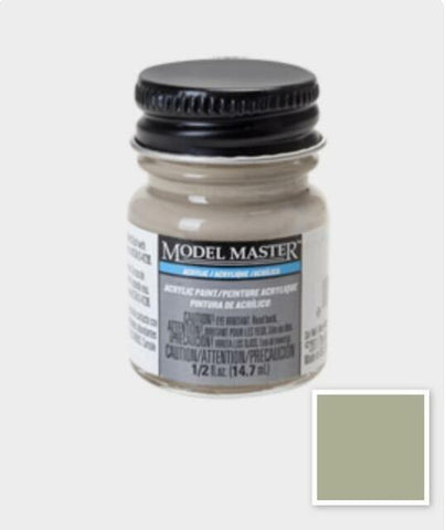Testors Model Master Acrylic Concrete Paint 1/2 oz. #4876