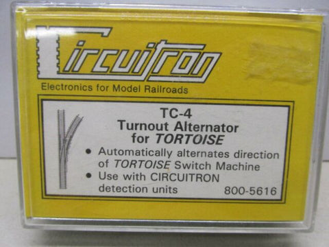 Circuitron #800-5616 TC-4 Turn Out Alternator for Tortoise