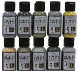 Mission Models Hobby Airbrush Paints WEATHERING COLORS 1oz acrylic - MMW