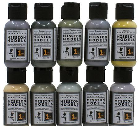 Mission Models Hobby Paints - BRITISH AIRCRAFT WWII - 1 oz Acrylic Paint - Choose your color