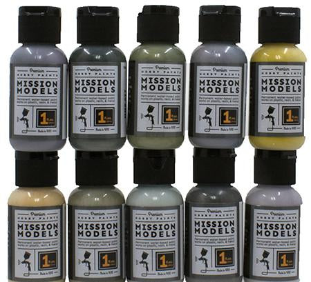 Mission Models Hobby Paints - HEAVY EQUIPMENT - 1 oz Acrylic Paint