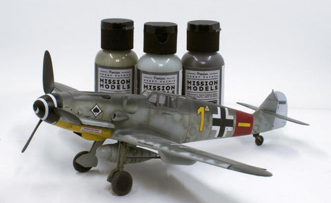 Mission Models Hobby Paints - GERMAN AIRCRAFT WWII - 1 oz Acrylic Paint Choose your color