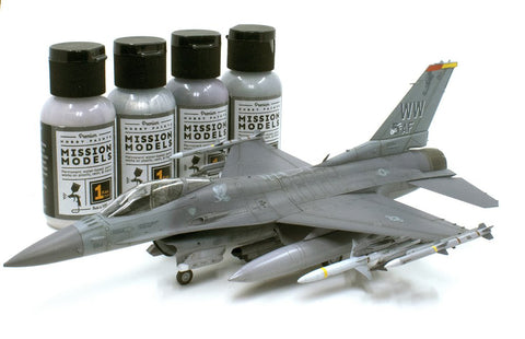 Mission Models Hobby Paints - US AIRCRAFT MODERN AND WWII - 1 oz Acrylic Paint - Choose your color