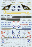 SuperScale 1/48 decals F/A-18C Hornet VFA-106 Gladiators - #48-1052