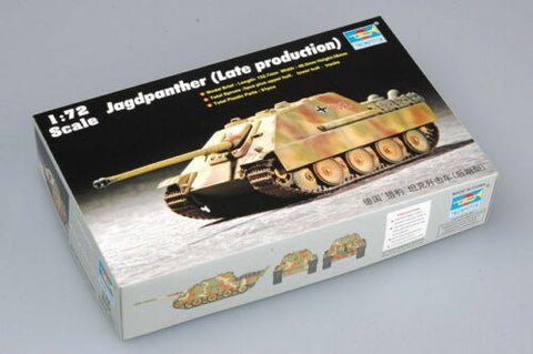 Trumpeter 1/72 scale Jagdpanther Late Production #07272 Old Stock Slight shelf wear