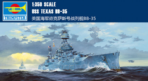 Trumpeter 1/350 scale USS New Texas BB35 Battleship #05340