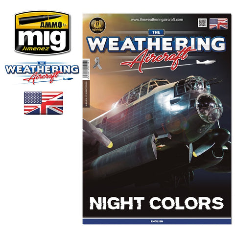 AMMO by Mig Jimenez The Weathering Aircraft 14 - NIGHT COLORS - AMIG5214
