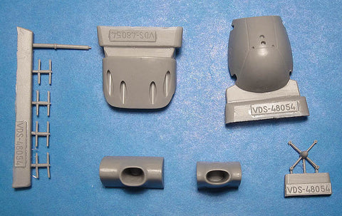 Vector Resin 1/48 scale He 219A-0/5 Conversion Set for Tamiya - VDS48054