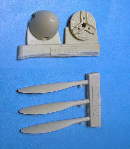 1/48 Vector resin Yak-3 Propeller & Spinner for Zvezda & Eduard - VDS48076