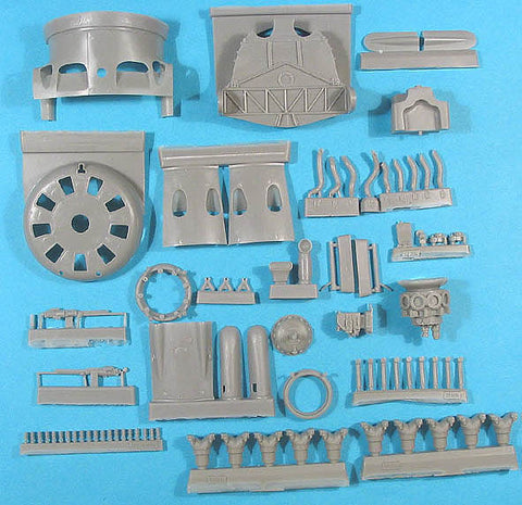 1/32 Vector Resin I-16 Super Detail Set Pt 1 #VDS32001 Special Hobby