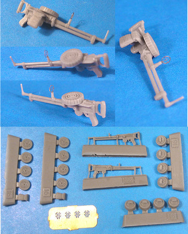 1/48 Vector Resin Lewis Type 92 Japanese Machine Guns #VDS48016