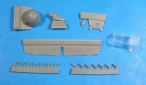 1/48 Vector resin Bf-109F-2 correction set for Zvezda - VDS48039
