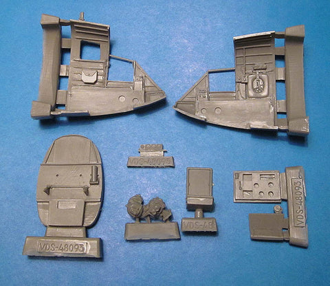 1/48 Vector resin A-20J Havoc/Boston Navigator's Cockpit Set Revell Italeri 48093