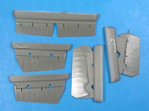 1/48 Vector resin FM-2 Wildcat Control Surfaces for HobbyBoss VDS48025