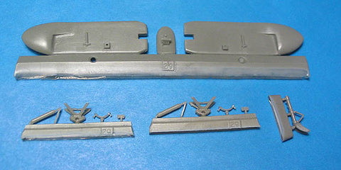 1/48 Vector resin LaGG-3 Skis and Bomb Racks - VDS48034