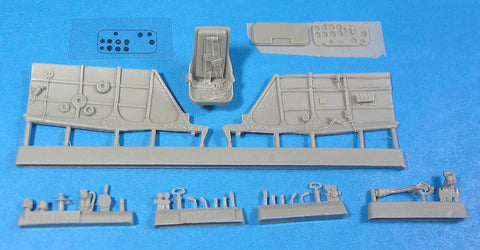 1/48 Vector resin La-5FN Cockpit Set for Zvezda - VDS48035