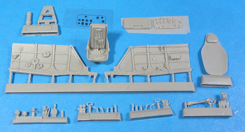 1/48 Vector resin La-5 Cockpit Set for Zvezda - VDS48036