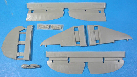1/48 Vector resin La-5 Control Surfaces for Zvezda - VDS48037