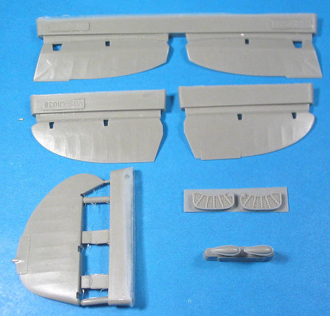 1/48 Vector resin La-5FN Control Surfaces for Zvezda - VDS48038