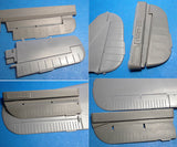 1/48 Vector resin Fw 190A-5/8 control surfaces for Hasegawa - VDS48051