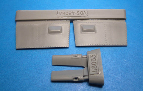 1/48 Vector resin Bf 109F gun cameras for Zvezda - VDS48053