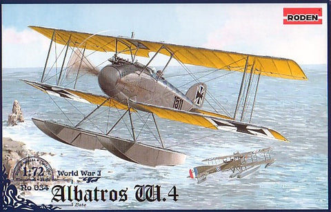 Roden Models 1:72 Albatros W4 (late) - 034 from collection