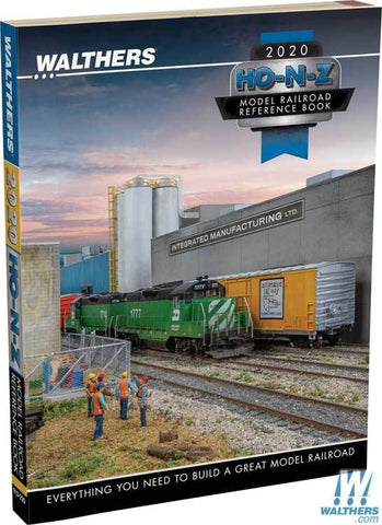 Walthers HO-N-Z scale Updated 2020 Catalog 913-220