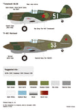 Wolfpack 1/48 decal P-40 Warhawk Part.2 - Land-Lease Warhawk/Tomahawk in VVS