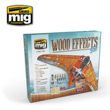 Ammo Mig Jimenez WOOD EFFECTS SET Solution Box - AMIG7801