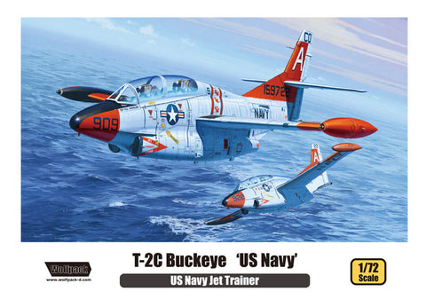 Wolfpack 1/72 T-2C Buckeye US Navy kit - WP10005 US Navy Jet Trainer
