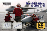 Wolfpack 1/32 AGM-154 JSOW set for 1/32 F/A-18, F-16 WP32009