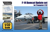 Wolfpack 1/32 F-14 Bombcat resin Update set for Trumpeter WP32052