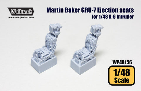 Wolfpack 1/48 Martin Baker GRU 7 Ejection seats A-6 - WP48156