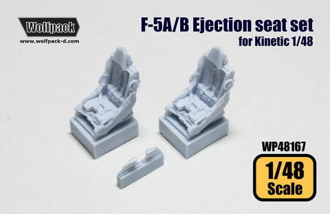 1/48 Wolfpack F-5A/B Ejection seats 2 pcs AFV Kinetic WP48167