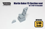 Wolfpack 1/48 resin Marin Baker F5 Ejection seat for 1/48 F-8 Crusader - WP48183