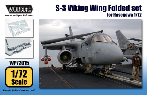 S-3 Viking Wing Folded set for Hasegawa -1/72 Wolfpack WP72015