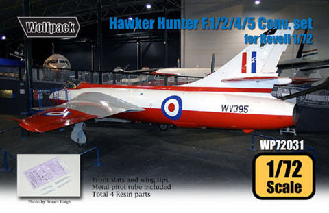Wolfpack 1/72 Hawker Hunter F.1/2/4/5 Conversion Revell WP72031
