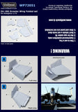 Wolfpack 1/72 scale resin EA-18G Growler Wing Folded set for Hasegawa - WP72051