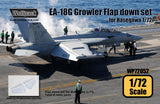 Wolfpack 1/72 EA-18G Growler Flap down set for Hasegawa WP72052