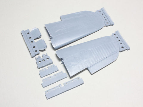 Wolfpack 1/48 scale resin F4U-4 Corsair Wing Folded set for Hobbyboss - WW48012