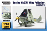 Wolfpack 1/48 scale resin Seafire Mk.XVII Wing Folded set for Airfix - WW48013
