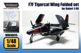 Wolfpack 1/48 scale resin F7F Tigercat Wing Folded set for Italeri - WW48015
