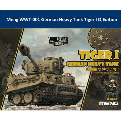 MENG World War Toons WWT-001 Tiger l German Heavy Tank Kit
