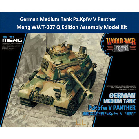 MENG World War Toons WWT-007 PzKpfw V Panther German Medium Tank Kit