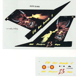 "1/72 Zotz BAF F-16 Devil Tail Art decal set ""I'll Be Back!"" ZTZ-72002"