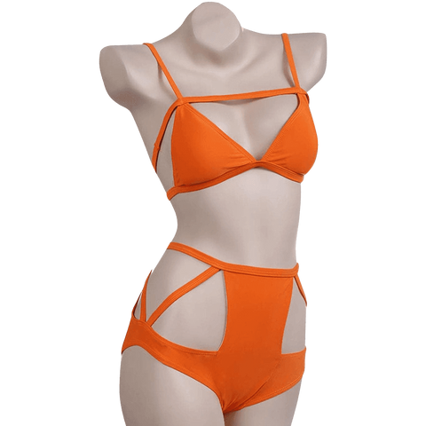 FINEJO Women's Sexy Push Up Bandage Bikini Set