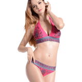 Imilan Boho Paisley Bikini Set Sexy Women Beachwear Swimsuit