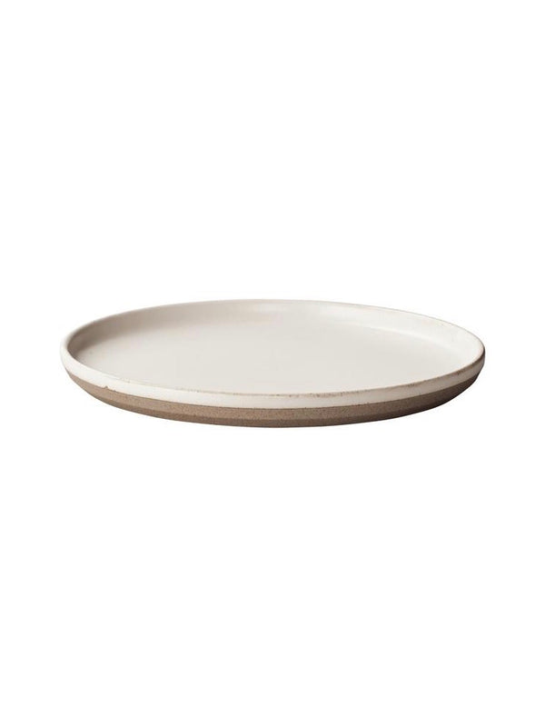 Ceramic Lab Plate White